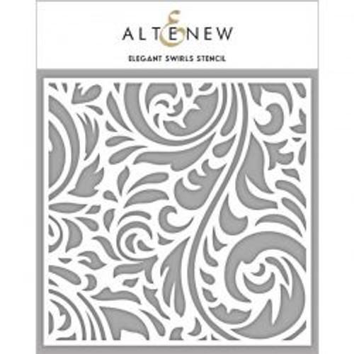 Altenew Elegant Swirls stencil