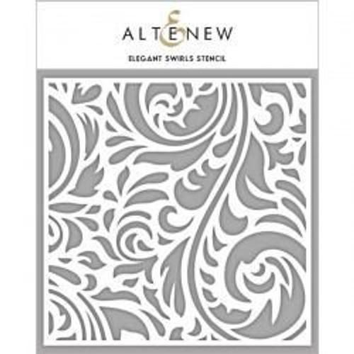 Altenew Stencil Elegant Swirls
