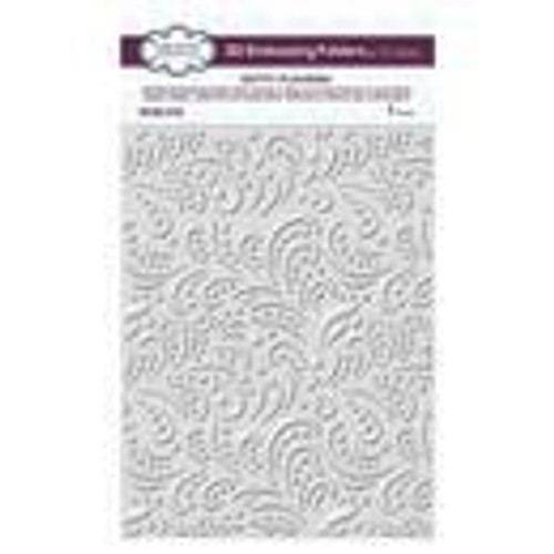 Creative Expressions 3D Embossing Folder Dotty Flourish