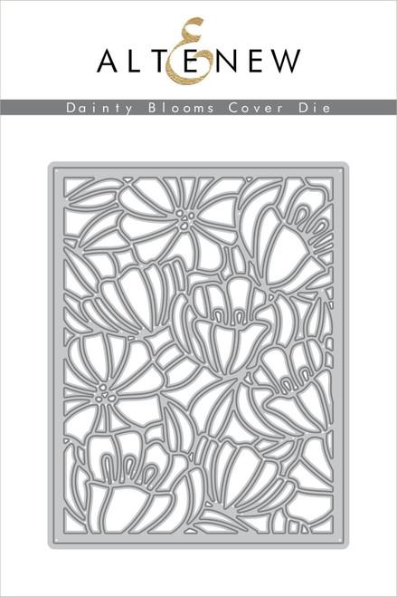 Altenew Dainty Blooms cover die