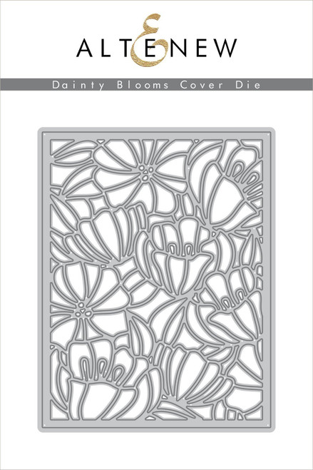 Altenew Dainty Blooms cover die