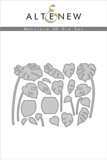 Altenew Monstera 3D die set