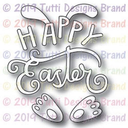 Tutti Designs Happy Easter Bunny