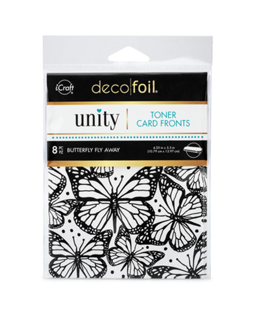 Thermoweb Unity Butterfly Fly Away Toner Card Fronts