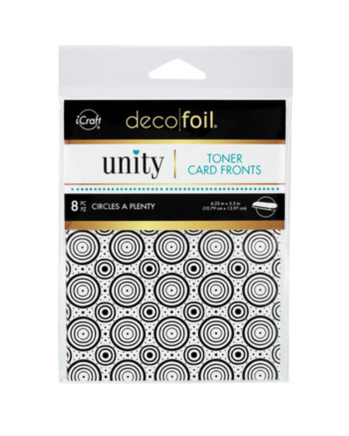 Thermoweb Unity Circles A Plenty Toner Card Fronts