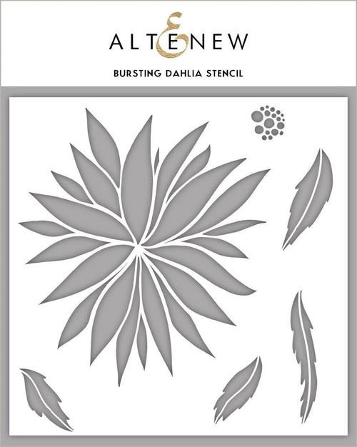 Altenew Bursting Dahlia stencil