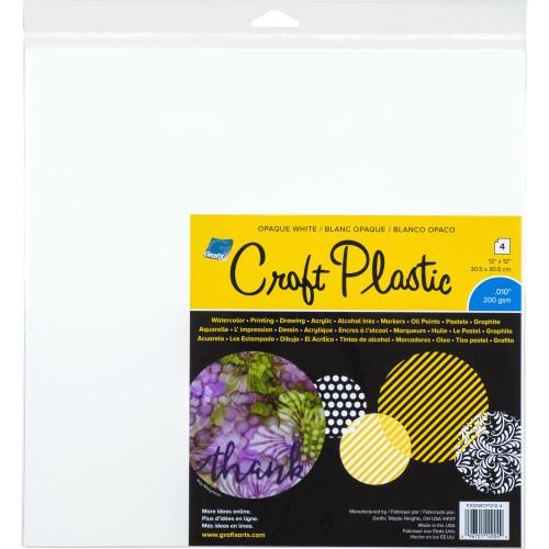 Grafix Craft Plastic white