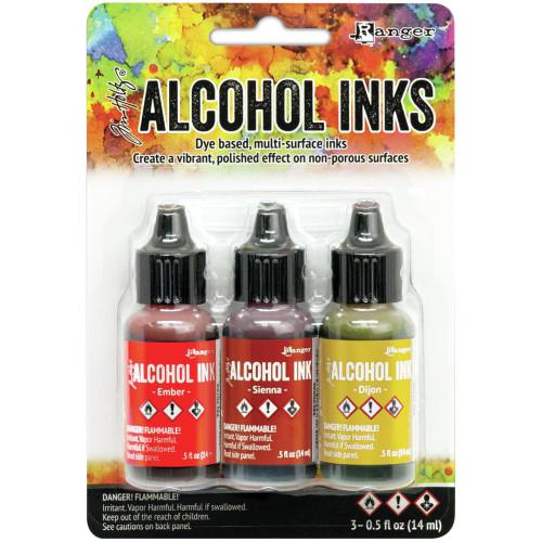 Tim Holtz Alcohol Ink kit Orange/Yellow Spectrum