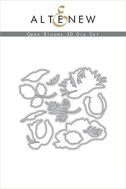Altenew Open Blooms 3D die set