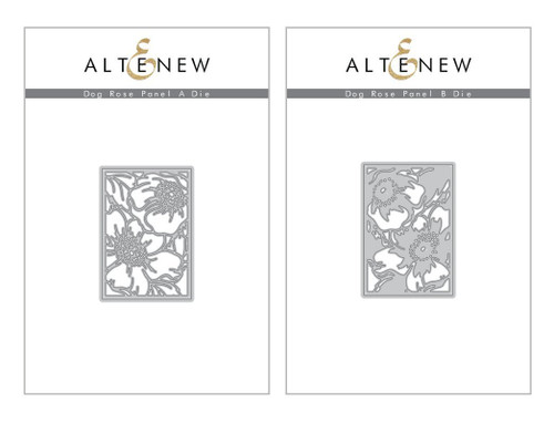 Altenew Dog Rose Panels A & B
