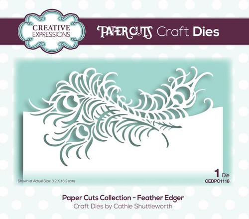 Creative Expressions Feather Edger die