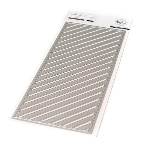 Pinkfresh Slim Diagonal Stripes