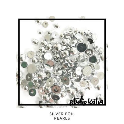 Studio Katia Silver Foil pearls