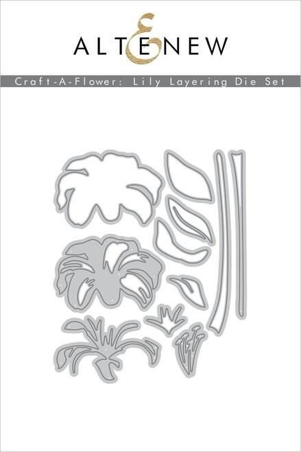Altenew Craft A Flower Lily