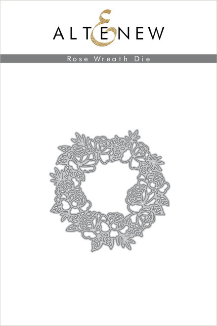 Altenew Rose Wreath Die