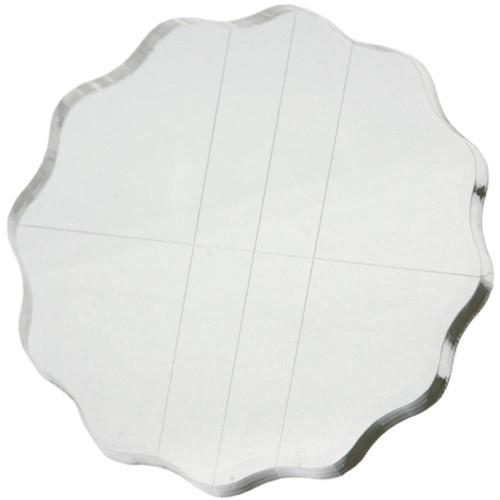 "Apple Pie Memories acrylic block 4.25"" round"