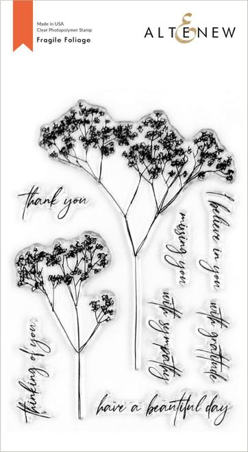 Altenew Fragile Foliage stamp set