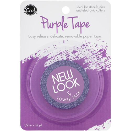 "New Thermoweb iCraft Removable Purple Tape 1/2"" x 15 yards"