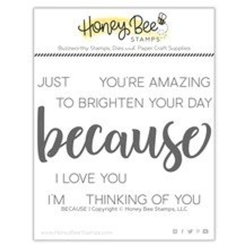 Honey Bee Because Stamp Set