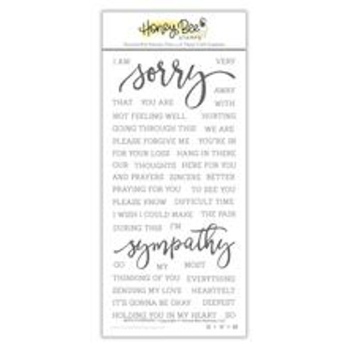 Honey Bee With Sympathy Stamp Set