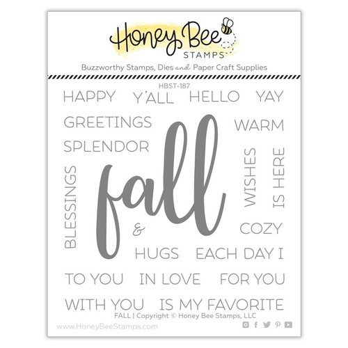 Honey Bee Fall stamp set