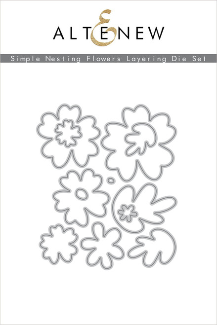 Altenew Simple Nesting Flowers Layering Die Set