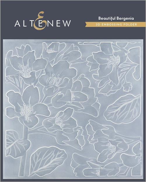 Altenew 3D Embossing Folder Beautiful Bergenia