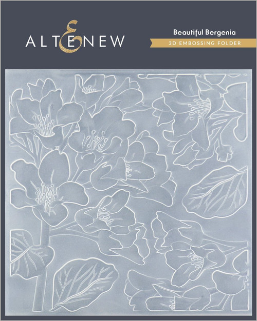Altenew 3D Embossing Folder Beautiful Bergenia