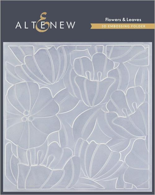 Altenew 3D Embossing Folder Flowers & Leaves