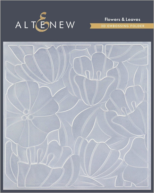 Altenew 3D Embossing Folder Flowers & Leaves