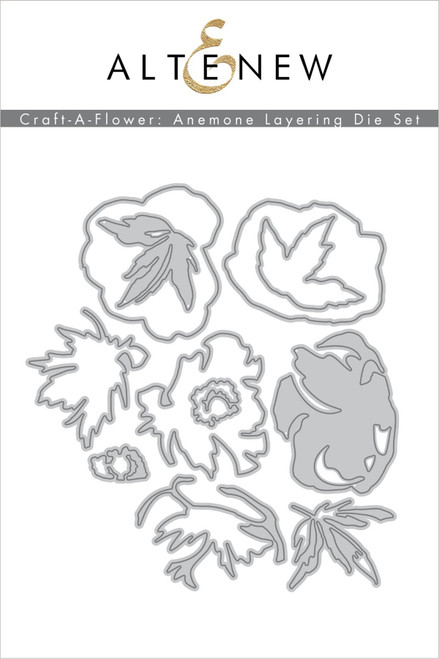Altenew Craft a Flower Anemone Layering die Set