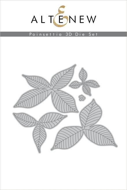 Altenew Poinsettia 3D die set
