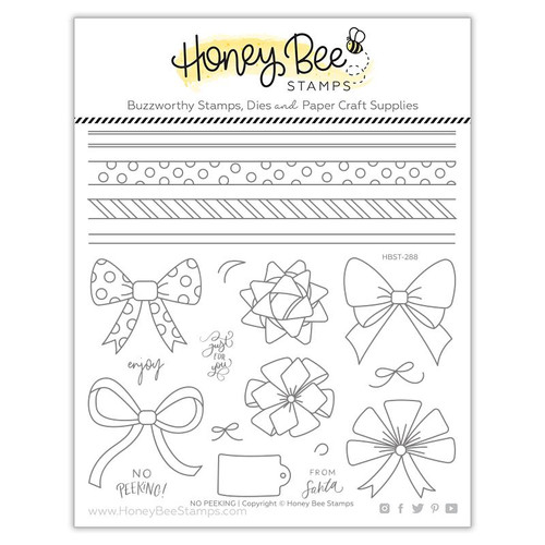 Honey Bee Stamps No Peeking Stamp Set