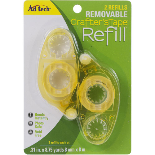 Ad-Tech Crafter's Repositionable Tape Runner Refill