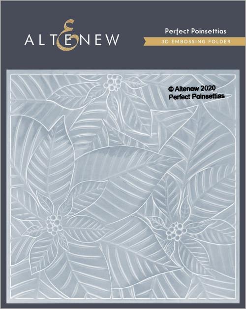 Altenew Perfect Poinsettia 3D Embossing Folder