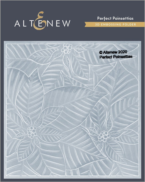Altenew Perfect Poinsettia 3D Embossing Folder