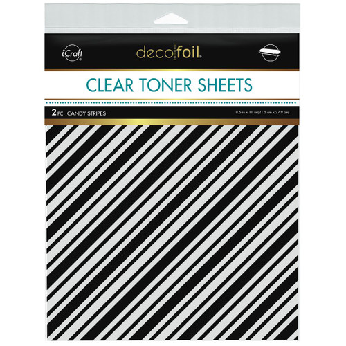 Thermoweb Clear Toner Sheets Candy Stripes