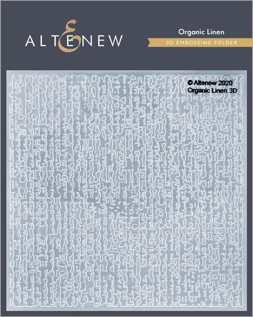 Altenew Organic Linen 3D Embossing Folder