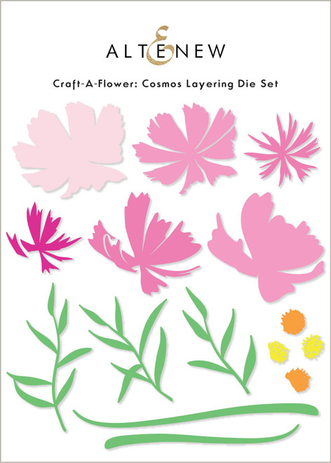 Altenew Craft A Flower Cosmos Layering Die Set