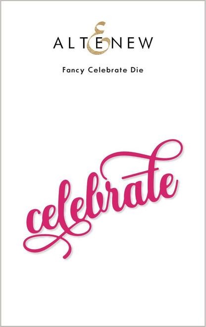 Altenew Fancy Celebrate Die