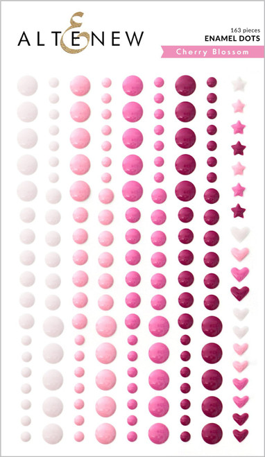 Altenew Cherry Blossom Enamel Dots
