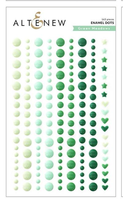 Altenew Green Meadows Enamel Dots
