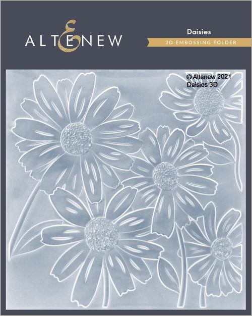 Altenew Daisies 3D Embossing Folder