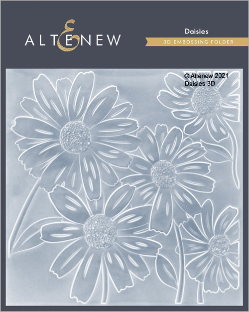 Altenew Daisies 3D Embossing Folder
