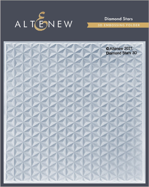 Altenew Diamond Stars 3D Embossing Folder