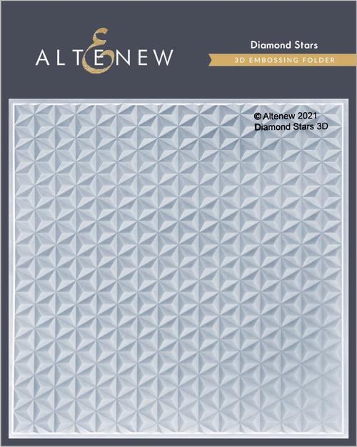 Altenew Diamond Stars 3D Embossing Folder
