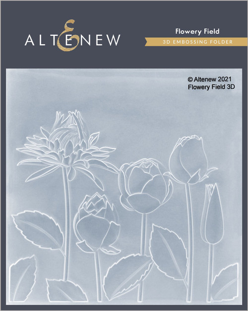 Altenew Flowery Field 3D Embossing Folder