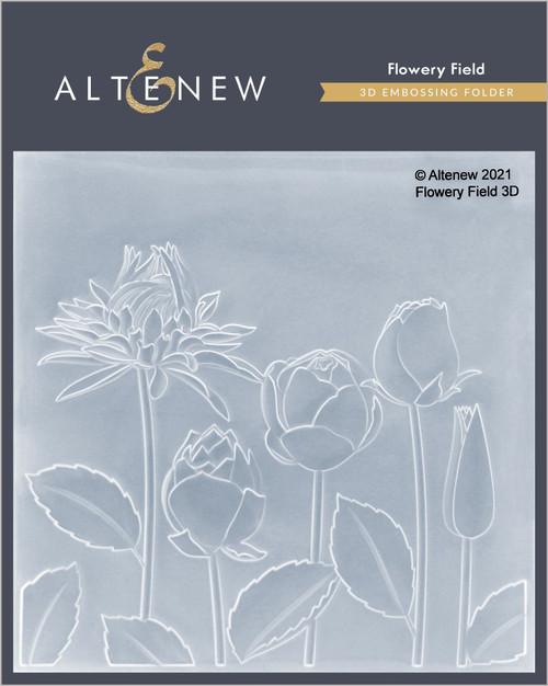 Altenew Flowery Field 3D Embossing Folder