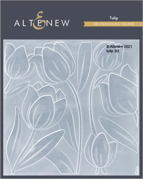 Altenew Tulip 3D Embossing Folder