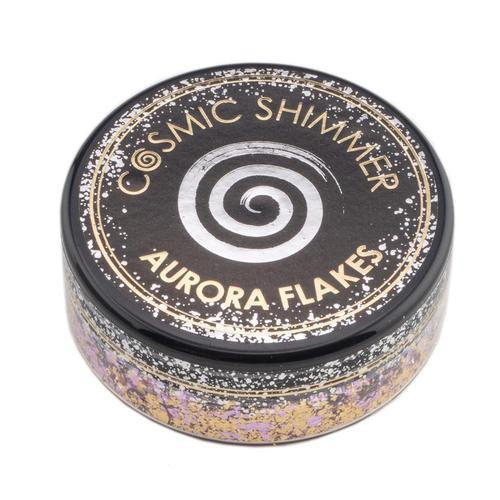 Cosmic Shimmer Aurora Flakes Morning Blush